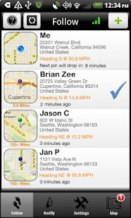 iTrack (GPS Phone Tracking) - screenshot thumbnail