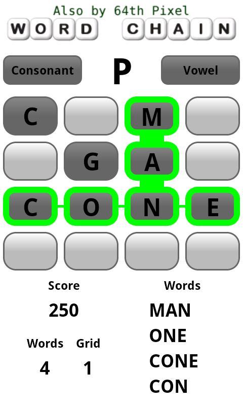 Four Word Free- screenshot