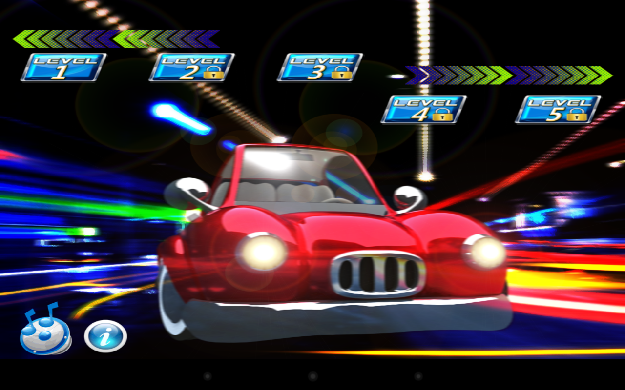 Kids Car Racing Numbers Game- screenshot