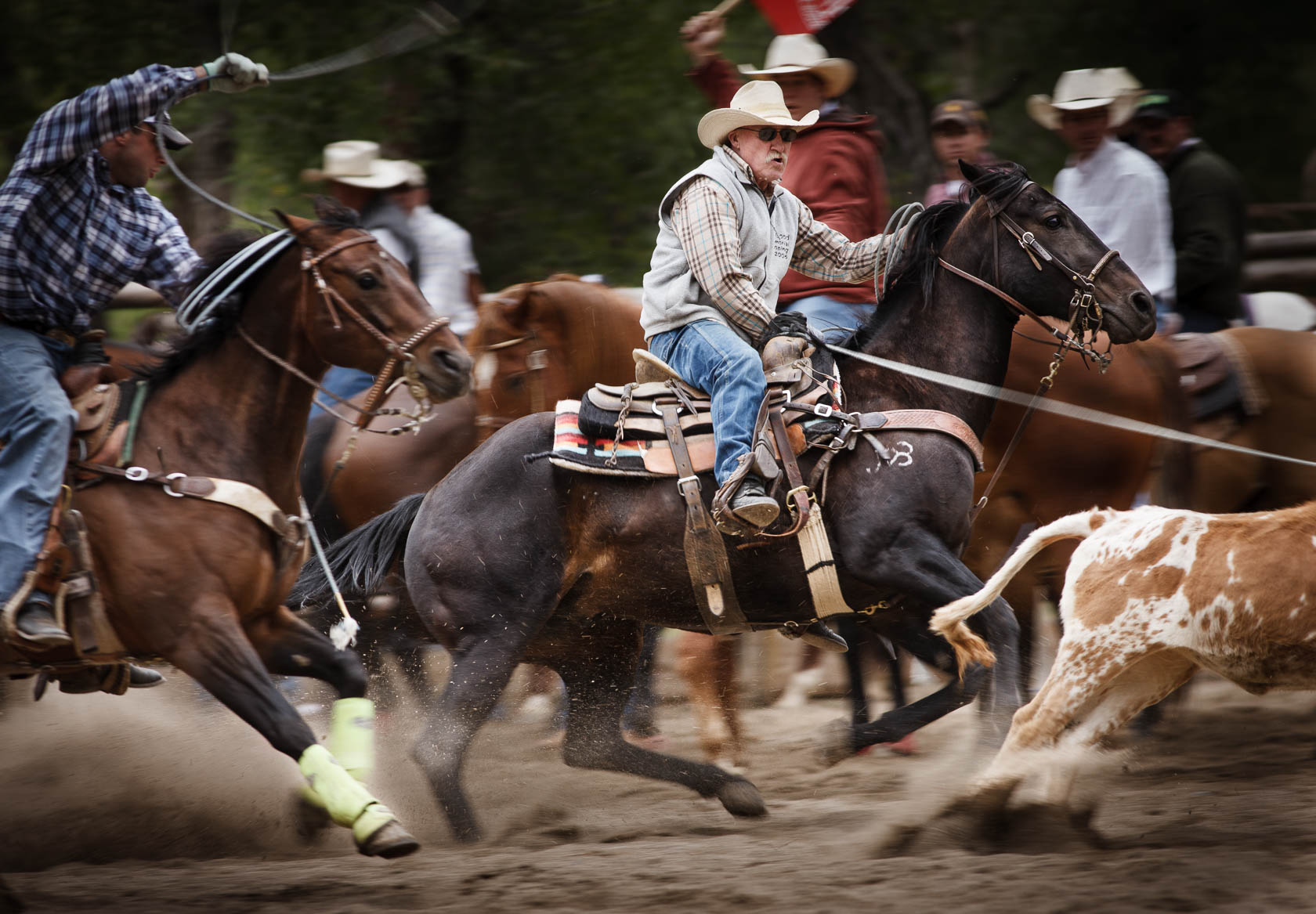 Team Roping Party, Wyoming