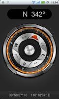 Screenshot of Smart Compass Cool Compass