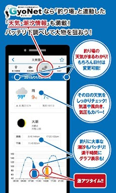 釣り場情報がGPSで無料検索できるアプリ 釣りのGyoNetのおすすめ画像5