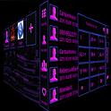 GO Contacts Purple Tech icon