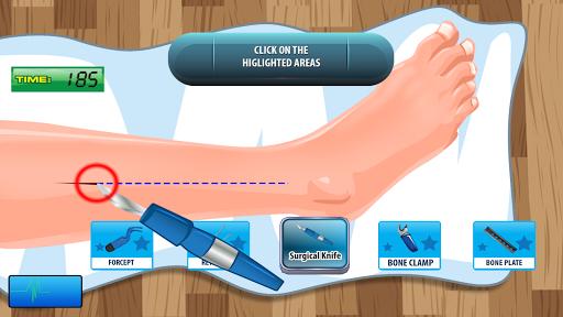 Juegos de operar rodillas