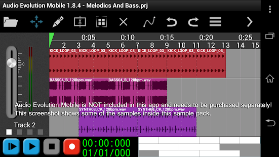 House Melodics & Bass 2 - AEM- screenshot thumbnail