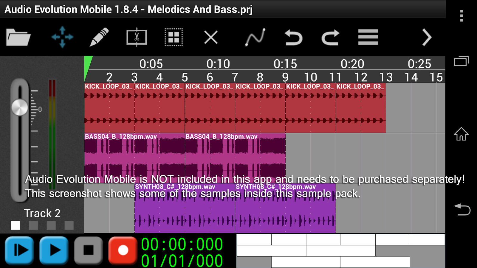 House Melodics & Bass 2 - AEM- screenshot