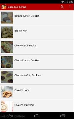 Kumpulan Resep Kue Kering - screenshot