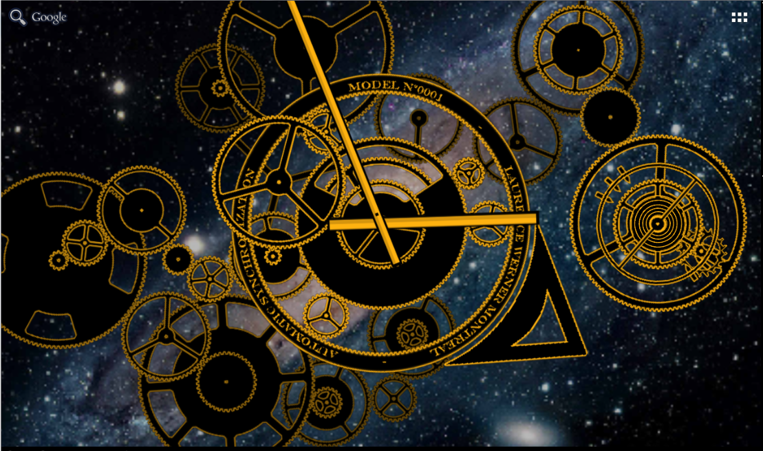 Clock Studio Live Wallpaper Android Apps on Google Play