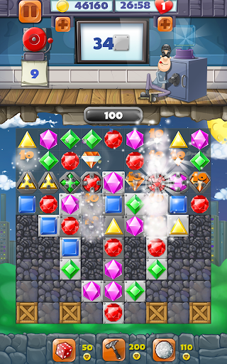 Jewel Blast Match 3 Game  screenshots 3