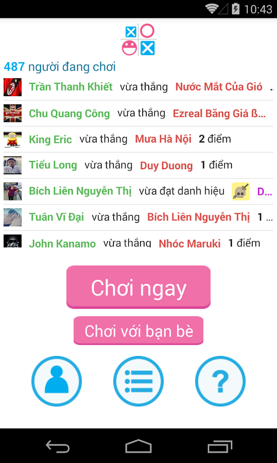 Cờ Caro- screenshot