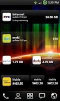 Screenshot of myUsage