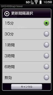 SKE48ブログビューア- screenshot thumbnail