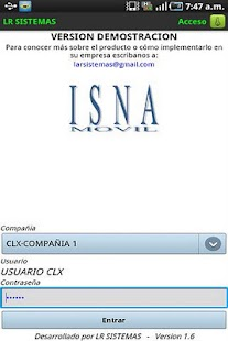 Isna Ventas Movil - screenshot thumbnail