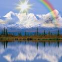 Beautiful lakeside LWP icon
