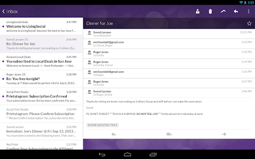 Email App for Gmail & Exchange - screenshot thumbnail