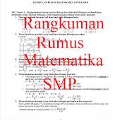 Rangkuman Rumus Matematika SMP