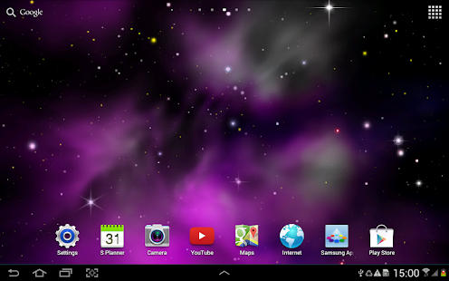 Galaxy 3D Parallax LWP Free - screenshot thumbnail