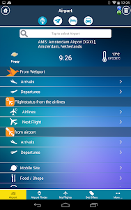 Amsterdam Airport + Radar AMS screenshot 9