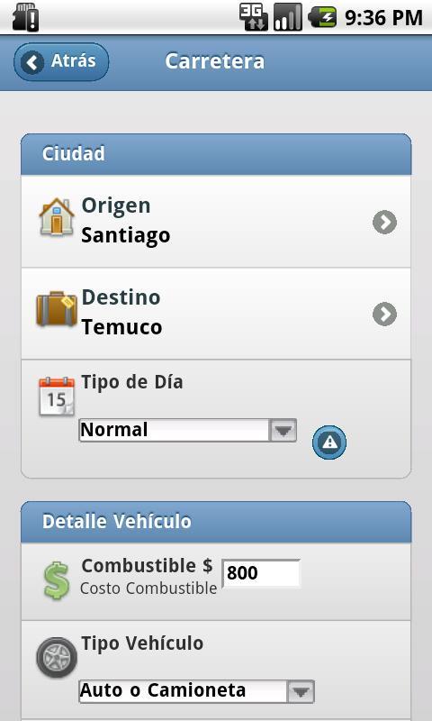 Carretera- screenshot