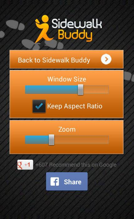 Sidewalk Buddy- screenshot