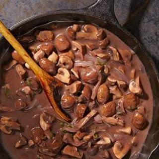 Mushroom Onion Red Wine Sauce Recipes.
