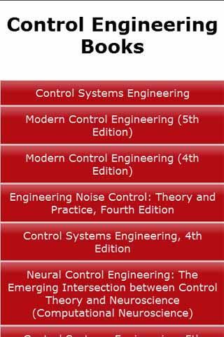 Control Engineering Books