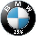 BMW Battery Widget logo