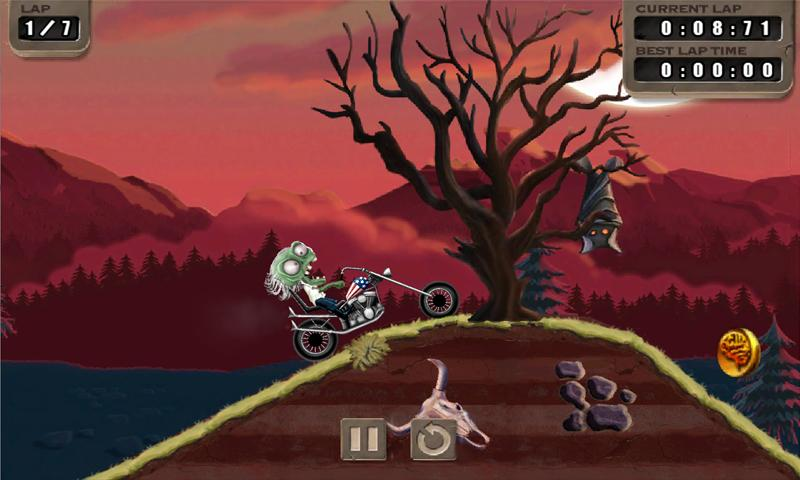Zombie Rider - screenshot