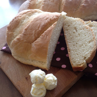 Italian Bread with Homemade Butter