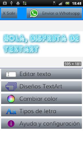 TextArt u2605 Cool Text creator  screenshots 10