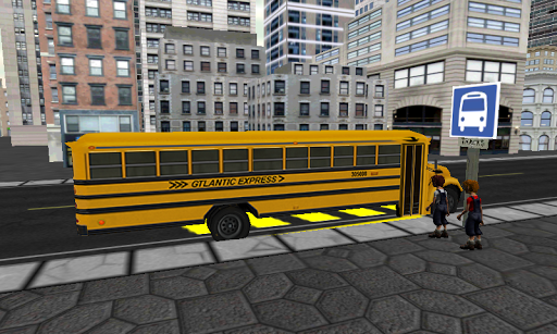 【免費模擬App】Schoolbus Driving Simulator 3D-APP點子