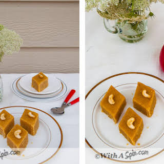 Protein Rich Split Pea Fudge – Chana Dal Barfi.