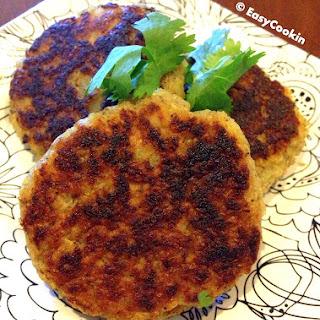 Quinoa Potato Tikki / Cakes