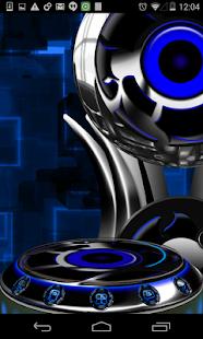 Next 3D Theme Blue Twister|玩個人化App免費|玩APPs