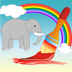 Coloring Book Wild Animals icon