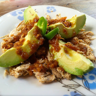 Jalapeño Crock-Pot Pulled Chicken.