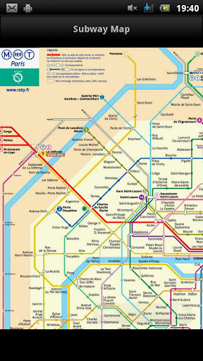 Melbourne Subway Map