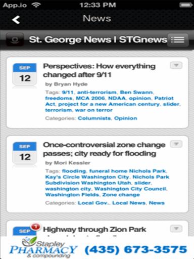 【免費生活App】STG NEWS-APP點子