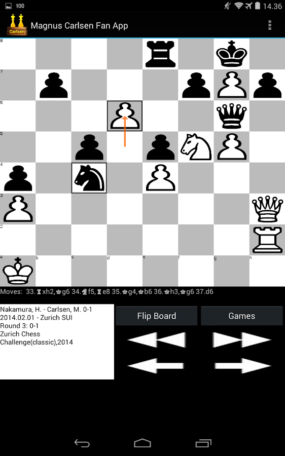 Magnus Carlsen Fan App- screenshot