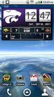 Screenshot of Kansas State Live Clock