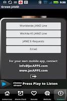 Screenshot of Grown Folk JAMZ Super App