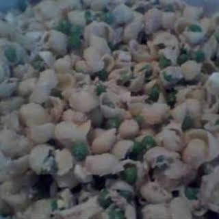 Cold Macaroni and Tuna Salad.