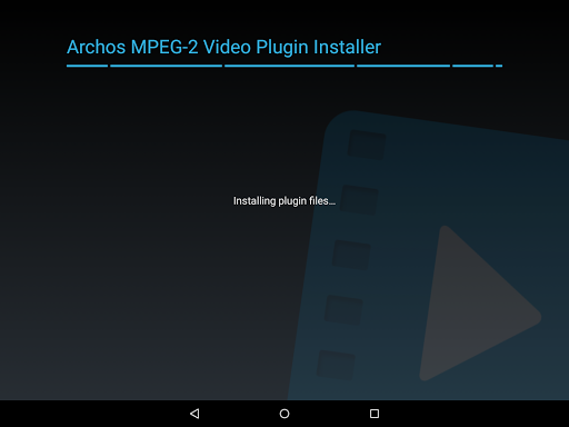 Archos MPEG-2 Video Plugin  screenshots 2