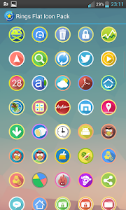 Rings Flat Icon Pack v2.0.3