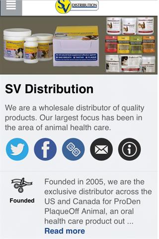 SV Distribution