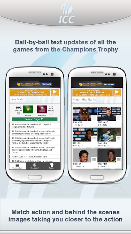ICC Cricket - screenshot