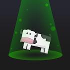 Aliens & Farm: The cow game icon
