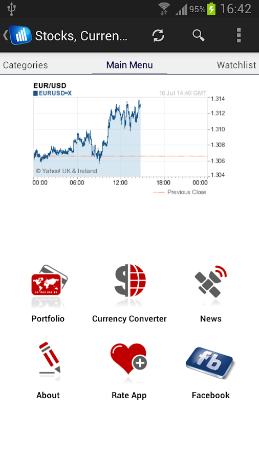 Stock Market - screenshot