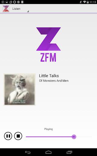 【免費音樂App】ZFM-APP點子