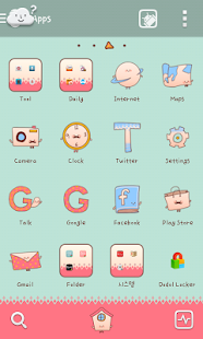 Happy2014 go launcher theme - screenshot thumbnail